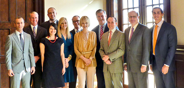 Mathews Nichols Group named top team at Allie Beth Allman for 2012